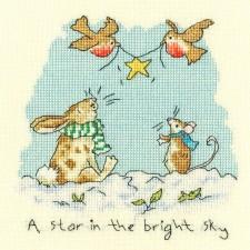Star in the bright sky