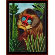 Mandril in the Jungle