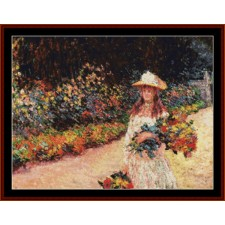 Young Girl in Garden, 2nd edition
