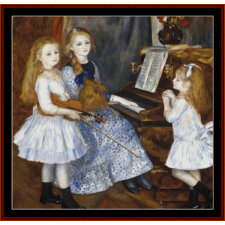 Madame Charpentier and Her Daughters