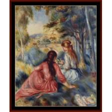 Girls in the Meadow