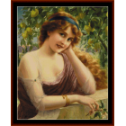 Girl by the Lemon Tree