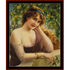 Girl by the Lemon Tree