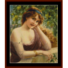 Girl by the Lemon Tree (Small)