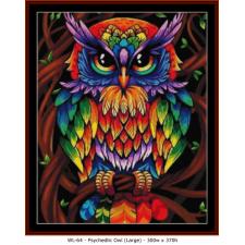 Psychedlic Owl