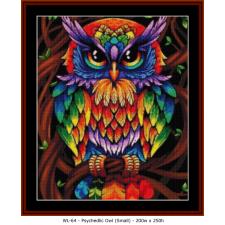 Psychedlic Owl (Small)