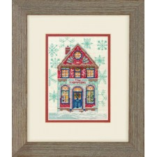CROSS STITCH KIT HOLIDAY HOME
