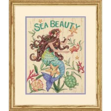 CROSS STITCH KIT SEA BEAUTY