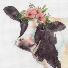 CROSS STITCH KIT SWEET COW