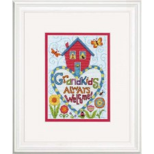 CROSS STITCH KIT GRANDKIDS