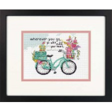 CROSS STITCH KIT WHEREVER YOU GO