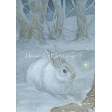 Mini Snow Hare