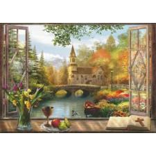 Autumn Church Frame Max Colors