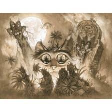 Mini Zombie Cats