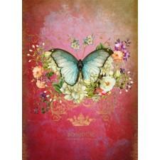 Butterfly Port Mauve