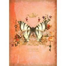Butterfly Port Peach