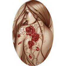 Ornament Rose Tattoo