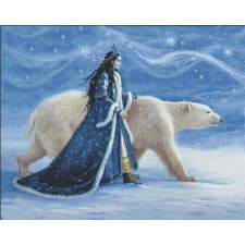 Supersized Snow Princess And Polar Bear