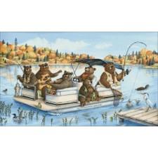 Mini Party Boat Bears