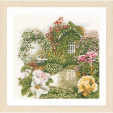 Counted cross stitch kit Rose garden