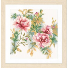 Counted cross stitch kit Rose branch