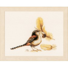 Counted cross stitch kit Chaffinch