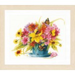 Counted cross stitch kit Colour perfection