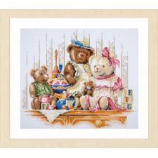 Diamond painting kit Bears and toys