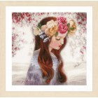 """Counted cross stitch kit """"The Day when Flowers"""""""
