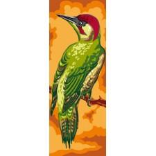 Canvas Woodpecker