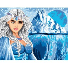 Canvas Ice princess