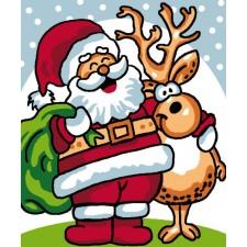 Cross Stitch Kit Santa Claus