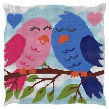 Cushion Love Birds
