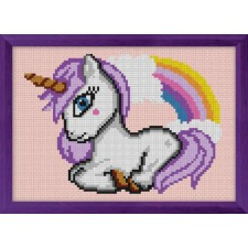 Cross Stitch Kit Unicorn