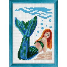 Cross Stitch Kit Mernaid