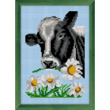 Cross Stitch Kit Cow