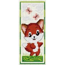 Cross Stitch Kit Fox
