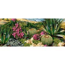 Canvas Exotic garden