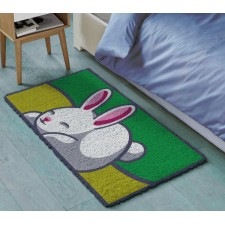 Latch hook carpet Rabbit