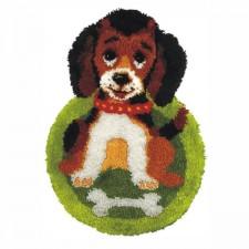 Latch hook kit Dog
