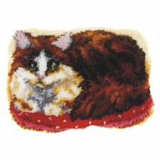 Latch hook kit Cat