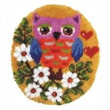 Latch hook kit Owl
