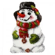 Latch hook kit Snowman