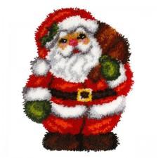 Latch hook kit Santa