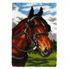 Latch hook kit Horse