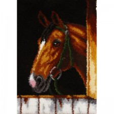 Latch hook kit bay horse