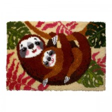 Latch hook kit Sloths
