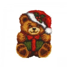 Latch hook kit Christmas Bear