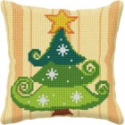 Cross stitch cushion kit Christmas Tree