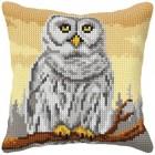 Cross stitch cushion kit Owl